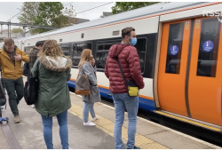 Does social distancing impact rail performance?